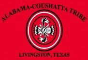 Bandera de Alabama Coushatta