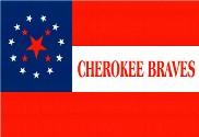 Bandera de Cherokee Braves