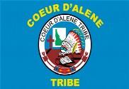 Bandera de Coeur d'Alene