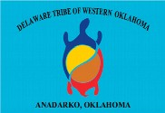 Flag of Delaware of Western Oklahoma