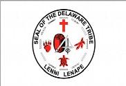 Bandera de Sello de la tribu Delaware