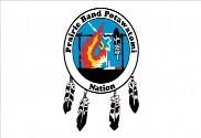Bandera de Prairie Band Potawatomi