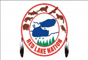 Drapeau de la Red Lake