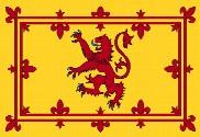 Bandera de Estandarte Real de Escocia