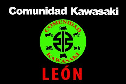 Bandera de Comunidad Kawasaki León