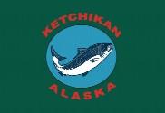 Bandera de Ketchikan, Alaska