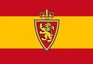 Bandera de España personalizada Zaragoza