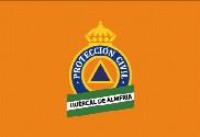 Bandera de Protección Civil - Huércal de Almería