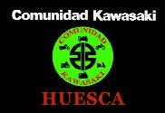 Bandera de Comunidad Kawasaki Huesca