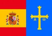 Bandera de España-Asturias