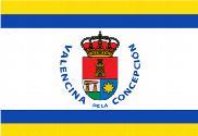 Bandera de Valencina de la Concepción personalizada 2