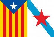 Bandera de Esteladas Galicia Cataluña