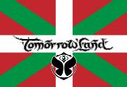 Bandera de Pais Vasco Tomorrowland