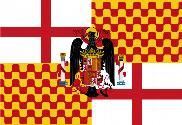 Bandera de Tabarnia con águila