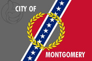 Bandera de Montgomery, Alabama