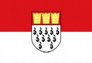 Bandera de Colonia, Alemania