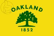 Bandera de Oakland, California