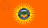 Bandera de Condado de Orange, California