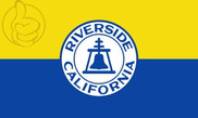 Bandera de Riverside, California