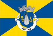 Flag of Fátima (Portugal)