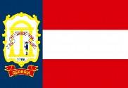 Flag of State of Georgia (1906-1920)