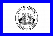 Bandiera di Newark, New Jersey