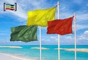 pack de Pacchetto tre bandiere Beach