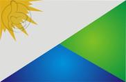 Bandera de Vale do Paraíso, Rondônia