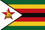 Flag of Zimbabue