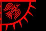 Bandera de Estandarte del cuervo rojo