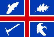 Bandera de Wroxton, Oxfordshire