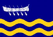 Flag of St Anne's on the Sea, Lancashire