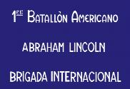 Bandeira do Lincoln Battalion