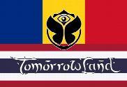 Bandera de TomorrowLand Rumania Tailandia