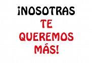 Bandera de Despedida de soltera Nosotras te queremos más