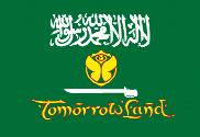 Bandera de TomorrowLand Arabia Saudita