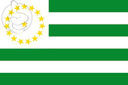 Flag of Department of Caquetá