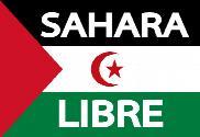 Bandera de Sahara libre