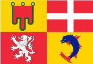 Bandera de Auvernia-Ródano-Alpes