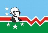 Bandera de Condado de Washington