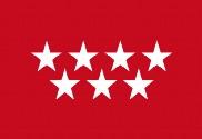 Bandera de Comunidad de Madrid