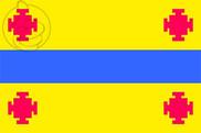 Bandera de Popayán