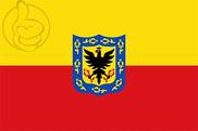 Drapeau de la Bogotá