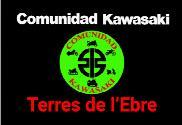 Bandiera di Comunidad Kawasaki Terres de l'Ebre