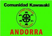 Bandera de Comunidad Kawasaki Andorra verde