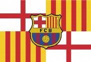 Flag of Barcelona custom