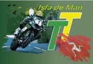 Bandera de Isla de Man TT Custom 2