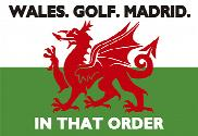 Bandiera di Wales Golf Madrid