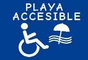 Flag of Handicapped beach