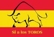 Bandera de España Si Toros